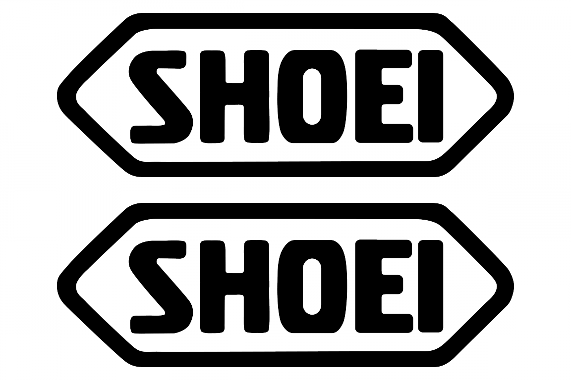 shoei logo stickerschoose the color yourselfand select the