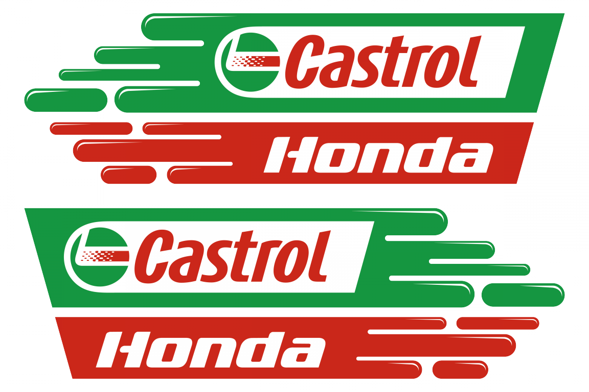Castrol Logo Stickerschoose The Color Yourselfand Select The Size Sponsor Sticker Castrol