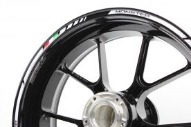 Rim striping SpecialGP Ducati Monster 796 White