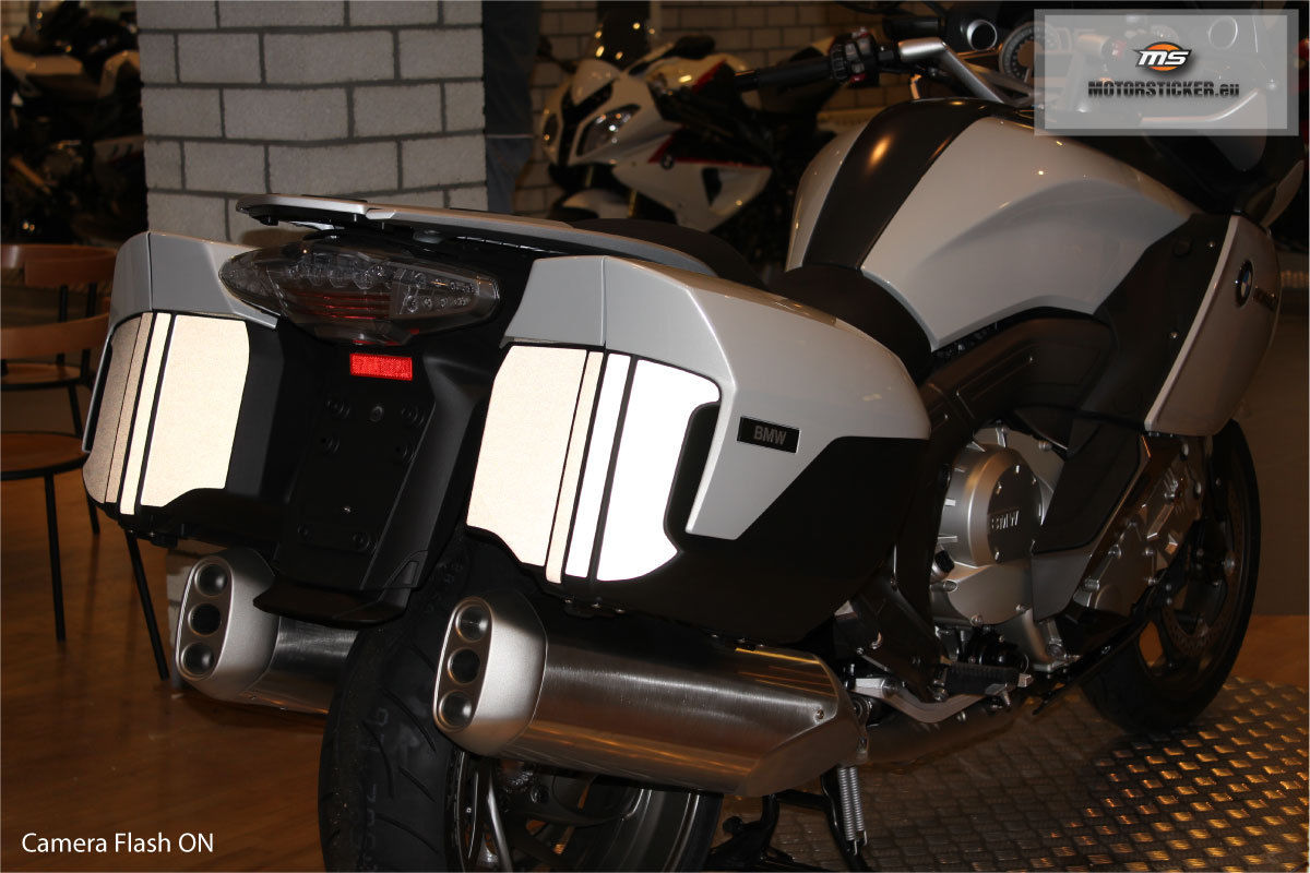 BMW K1600GT GTL Reflective Koffer Decals 2