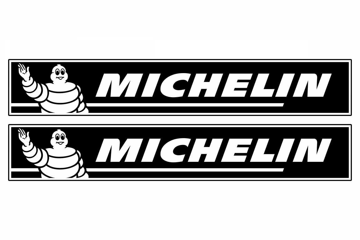 Michelin logo stickersChoose the color yourselfand select ...