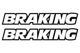 Sponsor Sticker Braking