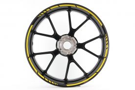 Rimstriping MotoGP Bright Yellow